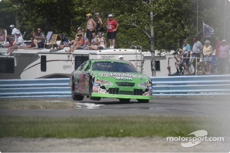 #18 Bobby Labonte skips the curbs
