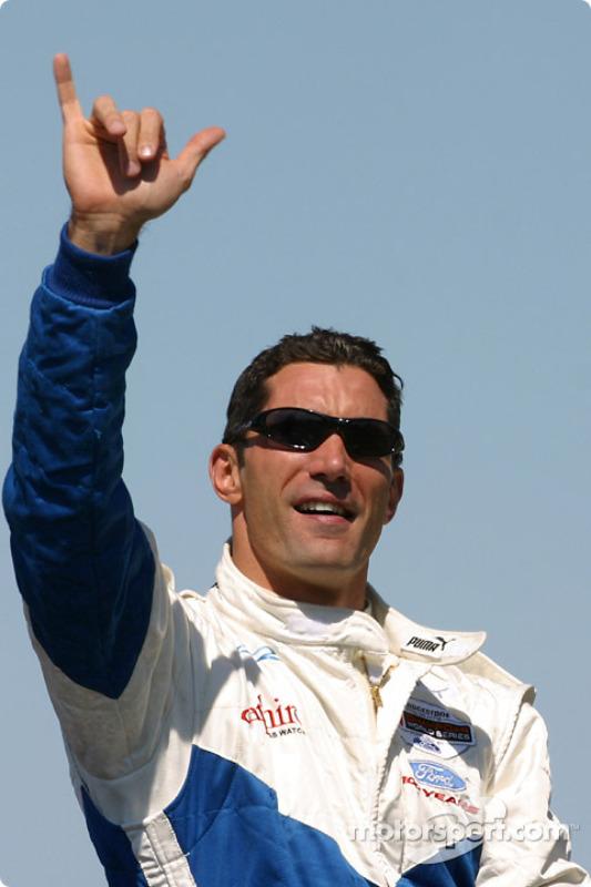 Drivers parade: Max Papis