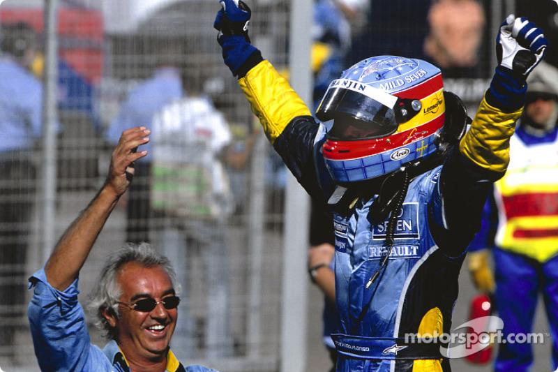 Фернандо Алонсо в 2003 году выиграл венгерский этап, став самым молодым победителем гонки в истории Ф1 на тот момент. Испанцу было тогда 22 года и 26 дней