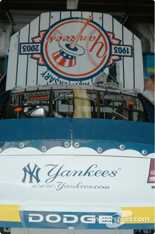 Les Yankees sponsorisent la voiture de Christian Fittipaldi