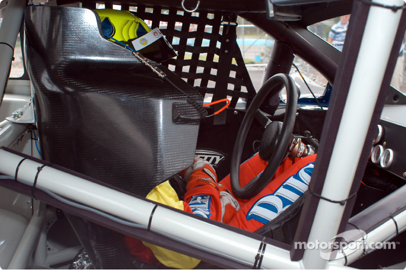 Christian Fittipaldi in his car