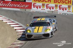 #63 ACEMCO Motorsports Ferrari 360 Modena: Shane Lewis, Terry Borcheller