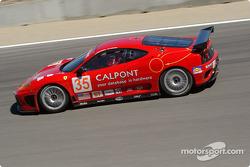 la Ferrari 360 Modena n°35 de l'équipe Risi Competizione pilotée par Ralf Kelleners, Anthony Lazzaro