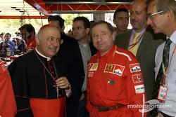 Jean Todt and Cardinale Tettamanzi