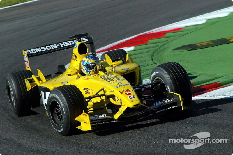 2003: Жолт Баумгартнер вместо Ральфа Фирмана (Jordan, Гран При Венгрии и Италии)