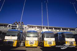 Renault F1 transporter
