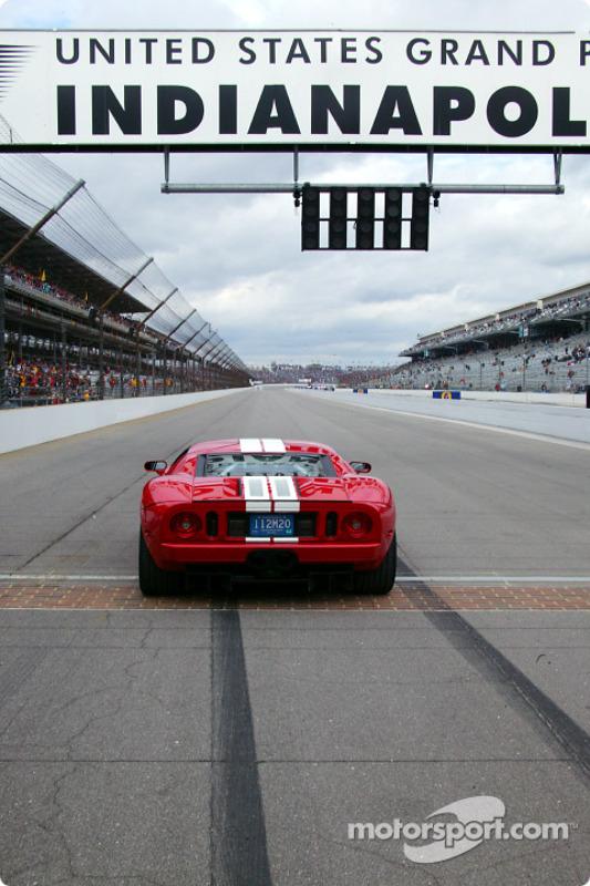 La Ford GT40 exposée