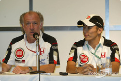 Press conference: David Richards and Takuma Sato
