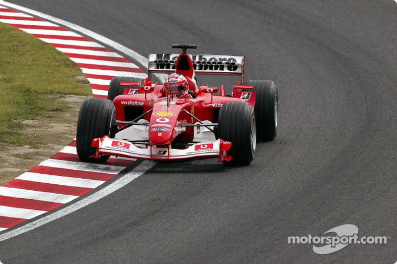 2003: Rubens Barrichello (Ferrari F2003-GA)