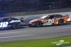 Tony Stewart runs down Ryan Newman