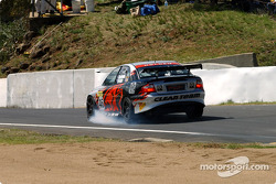 Holden Young Gun Dale Brede locks a front brake