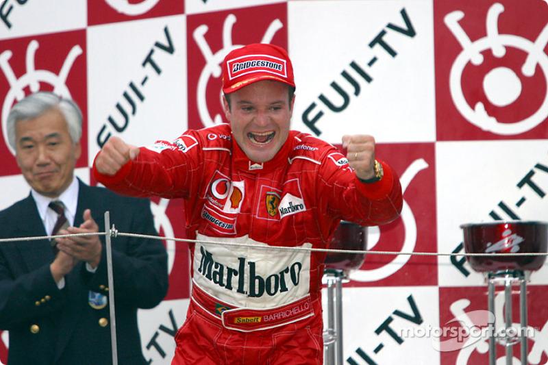 2003 - Рубенс Баррікелло, Ferrari