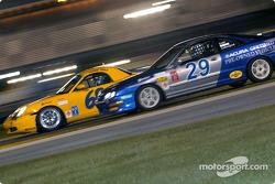 #68 SpeedSource Porsche Boxster: Scott Schlesinger, Sylvain Tremblay, and #29 Bill Fenton Motorsports Acura Integra LS: Michael Liebl, Howie Liebengood