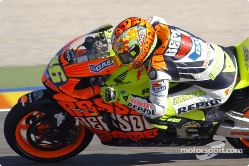 Valentino Rossi, temporada 2003