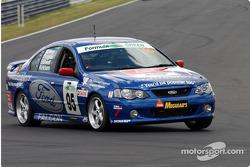 #95 John McIlroy Ford Falcon BA XR6 Turbo: John McIlroy, Ken Douglas, Chris Stillwell, Phil Kirkham