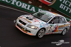 #2 Garry Holt Mitsubishi Lancer Evo VII RS: Garry Holt, Gary Young, Michael Brock, Kevin Mundy