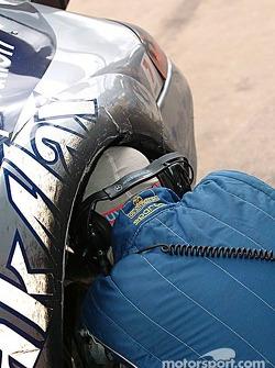 Cirtek Motorsport pit area