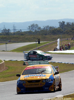 Paul Radisich leads Brad Jones