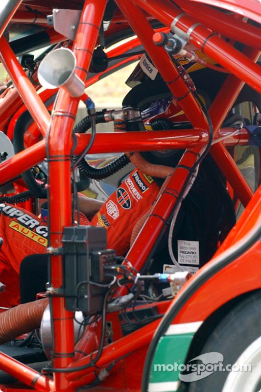 Le cockpit de la Super Cheap Auto de Steven Ellery