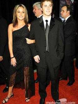 Kasey Kahne avec sa petite amie