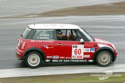 #60 MINI of San Francisco: Henry Schmitt, Darryl O'Young