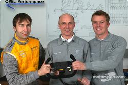 Heinz-Harald Frentzen, Volker Strycek and Marcel Fassler