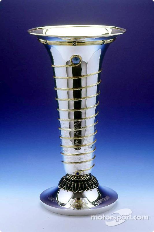 Formula One Drivers World Championship trophy