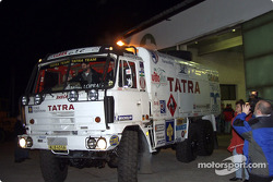 Tatra Team gets ready