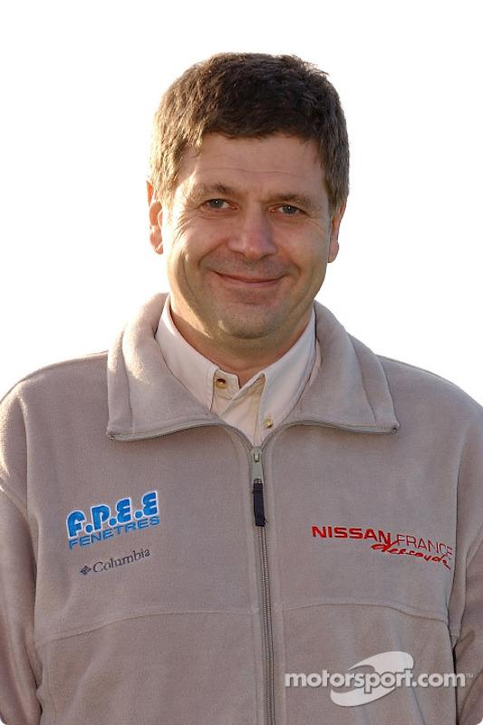 Présentation de l'équipe Nissan Dessoude : Arnaud Debron