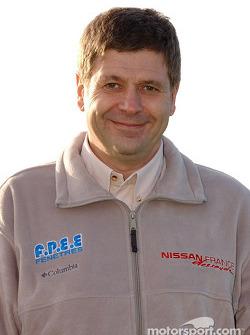 Nissan Dessoude team presentation: Arnaud Debron