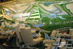 Modèle réduit du Dubai Autodrome