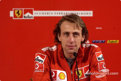 Press conference: Luca Badoer