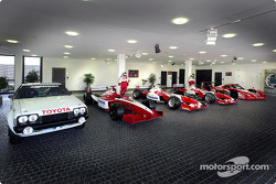 The Toyota Motorsport factory - Main Reception