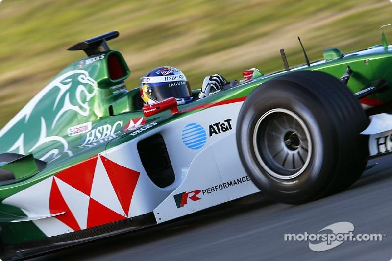 Christian Klien test ediyoryeni Jaguar R5