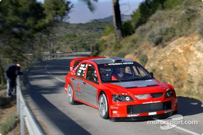 Mitsubishi Lancer WRC04 launch
