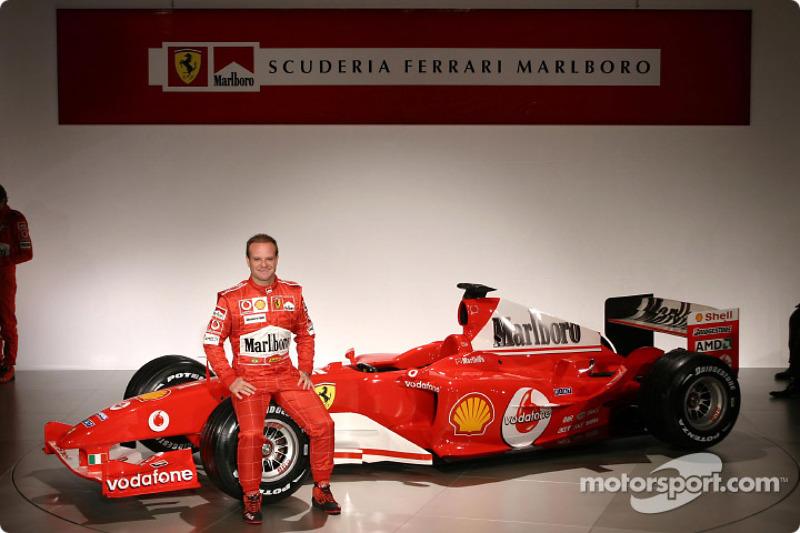 Рубенс Баррікелло і Ferrari F2004