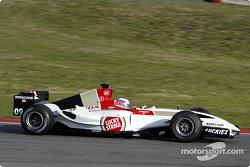 Jenson Button teste la nouvelle BAR 006