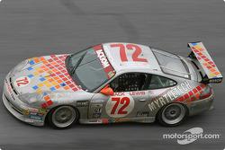 La Porsche GT3 Cup n°72 de Jack Lewis Enterprises (Jack Lewis, Edison Lluch, Tom McGlynn, Manuel Matos)