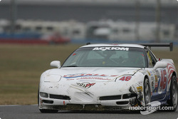 La Corvette n°46 du Michael Baughman Racing (Peter Argetsinger, John Pew, Mark Patterson, Dario Cioti, Jim Victor)