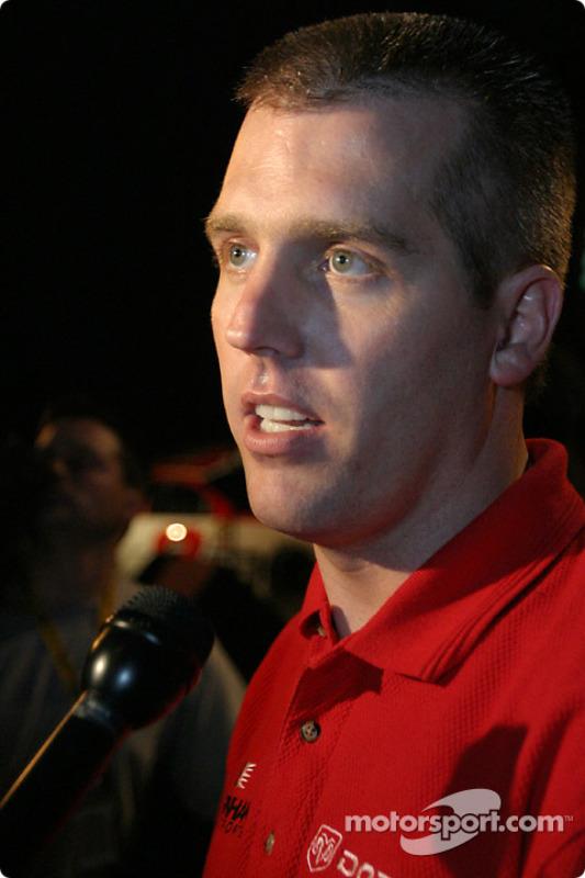 Le poleman du Budweiser Shootout, Jeremy Mayfield