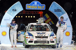 Podium: Jani Paasonen and Sirka Rautiainen