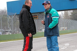 Gianmaria Bruni and Giancarlo Fisichella