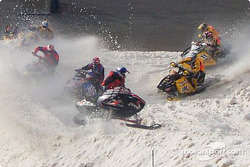SnoCross at the Speedway