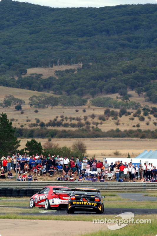 The southern highlands provide the ultimate location for racing at Wakefield park