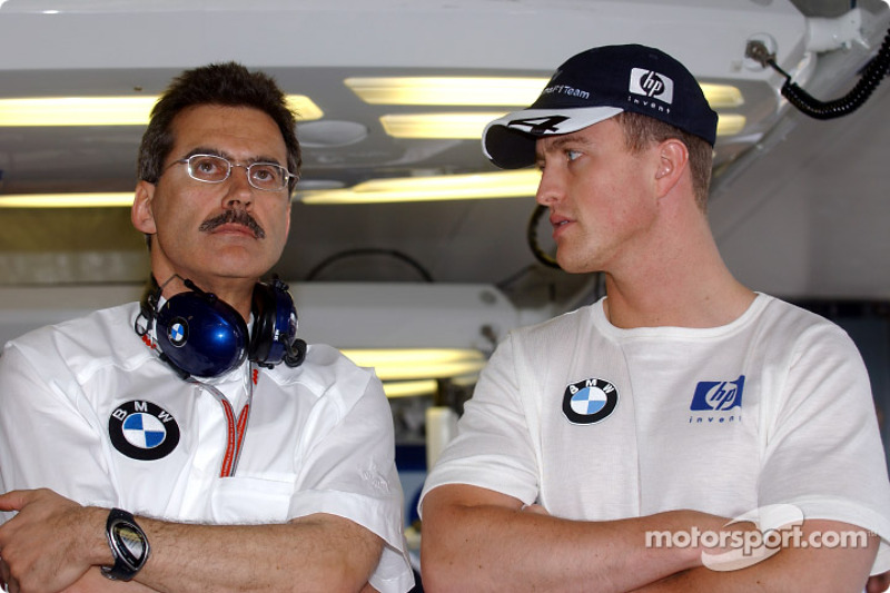 Dr Mario Theissen y Ralf Schumacher