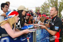 Gianmaria Bruni signs autographs