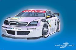 Vue 3D de l'Opel Vectra GTS V8 DTM 2004