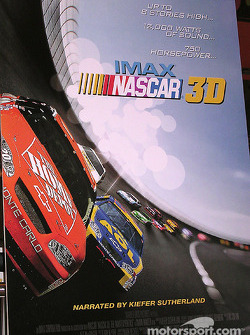 Poster for NASCAR 3D: The IMAX Experience.