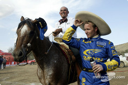 Petter Solberg enjoys the local colors of Mexico