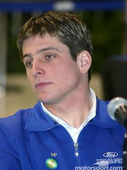 Ford media event: François Duval